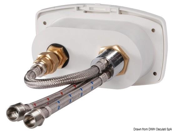 Réparer le mélangeur eau chaude et eau froide